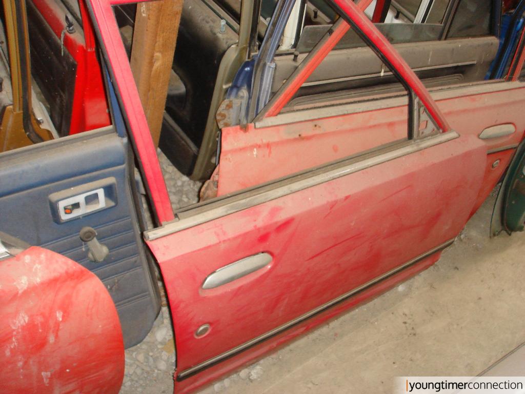 Erste Begegnung mit einer Datsun Cherry-Tür nach 25 Jahren :)