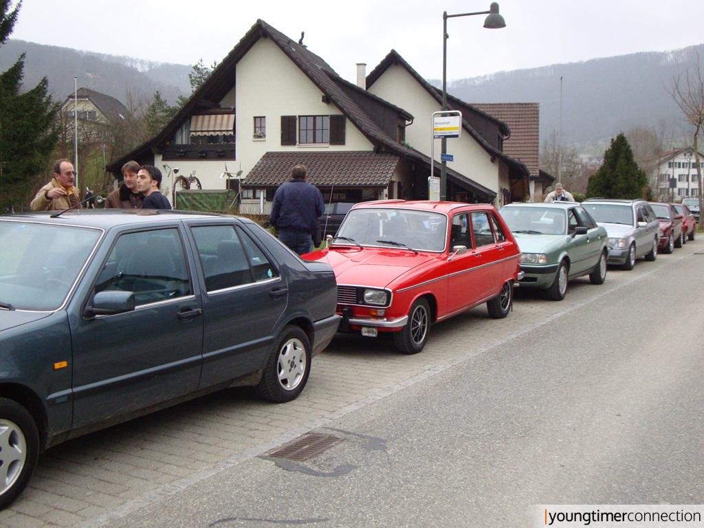 Kurzer Halt in Büren (nicht an der Aare)